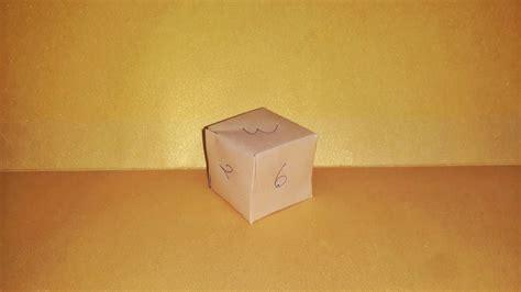 Origami Seamless Cube - origami seamless cube k 252 p nas箟l yap箟l箟r how to make