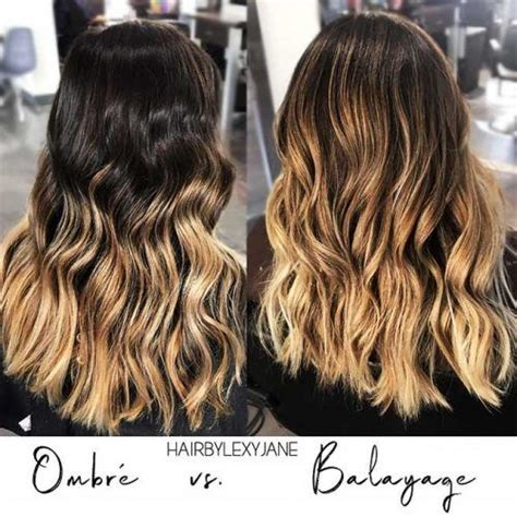 balayage hair color vs ombre new hair ombre ideas to diversify classic brown and