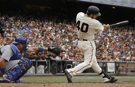 breaking bumgarner s home run swing san