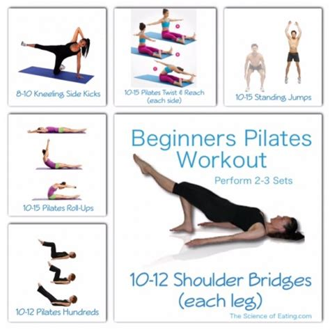 pilates workout for beginners