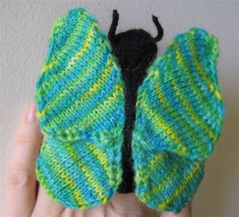 knitting pattern butterfly motif butterflies to knit free patterns grandmother s