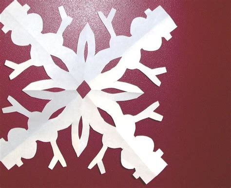 snowflake paper chain template snowflake paper chain template 28 images snowflake