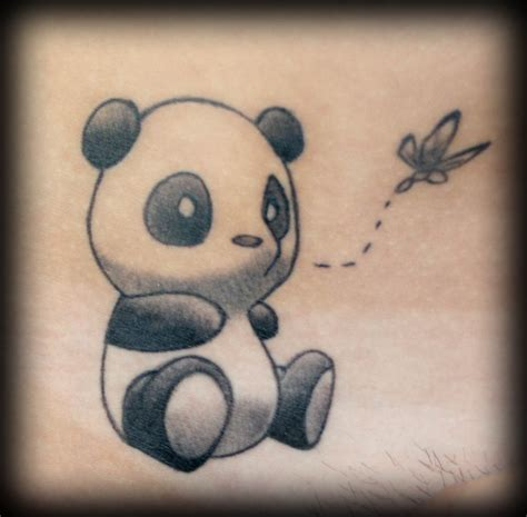 tattoo of panda bear the art and antics of jason blanton