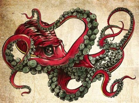 imagenes de tatuajes de kraken octopus art tumblr