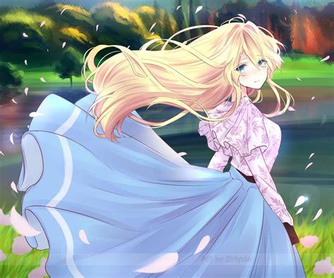 anime violet evergarden violet evergarden fanart by eirlysie on deviantart