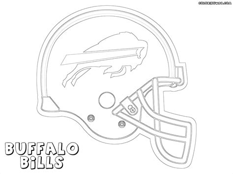 buffalo bills helmet coloring pages coloring pages ideas