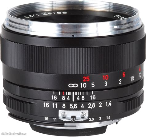 Carl Zeiss Planar T 50mm F14 Ze Mount Canon zeiss 50mm f 1 4