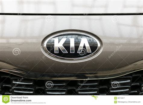 Kia Sign Kia Motors Sign Editorial Photography Image 89715917