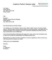 C Section Lifting Restrictions by Exles Of A Return To Work Letter
