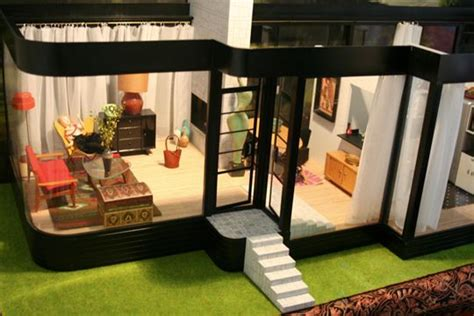 barbie living room set modern house collecting miniatures dollhouses apartment therapy
