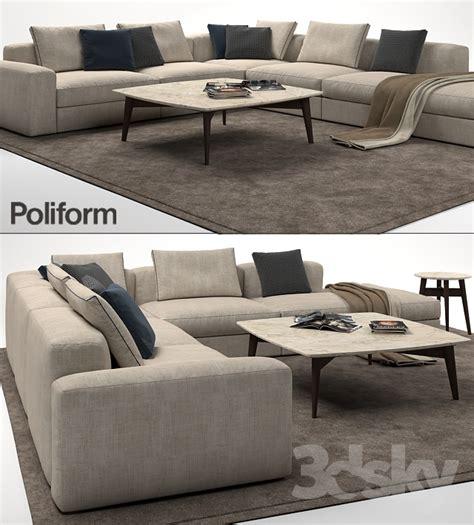 poliform dune sofa 3d models sofa poliform dune sofa