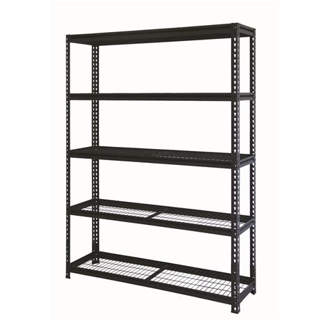 2090 x 1500 x 410mm 5 tier heavy duty shelving unit