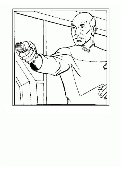 coloring page star trek coloring pages 2