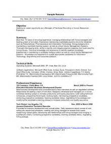 Resume Summary Or Objective by Best Photos Of Strong Resume Summary Statements Resume Summary Exles Resume
