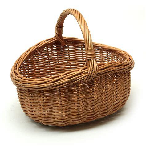 gift baskets wicker carry basket by prestige wicker notonthehighstreet
