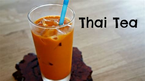 bagaimana cara membuat thai tea simak resep mudah cara membuat thai tea buka usaha