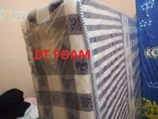 Kasur Quilting kasur busa quilting bercover bed dtfoam