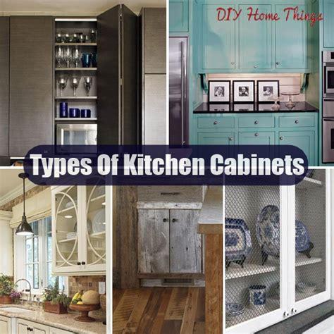 different kinds of kitchen cabinets types kitchen cabinets