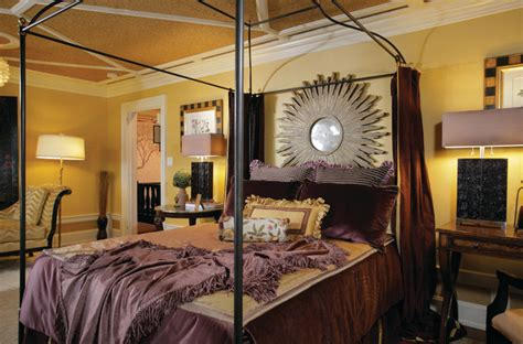 Plum And Gold Master Bedroom Traditional Bedroom New Plum Bedroom Decorating Ideas