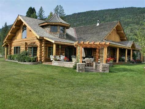 Turret House Plans Log Amp Stone Log Homes Pinterest