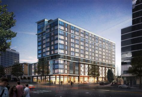 Apartments In Seattle Bellevue Construction Starts On 12 Story Apartment Tower In