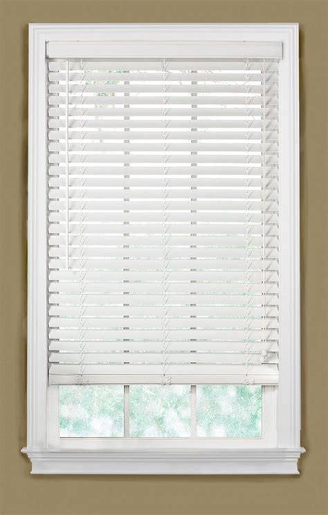 best 25 white wood blinds ideas on room