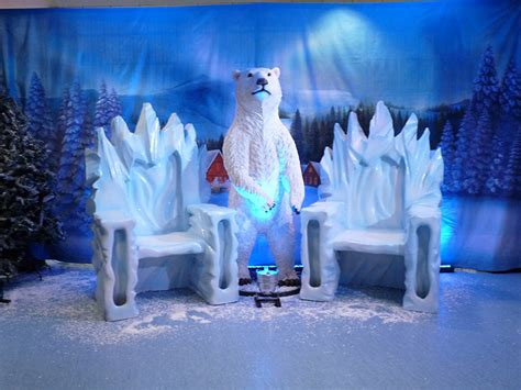 winter wonderland party themed prop hire christmas auto