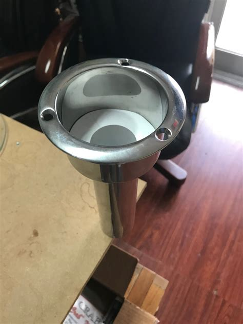 boat cup rod holders cup rod holders the hull truth boating and fishing forum