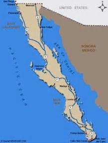Map Baja Mexico by Map Of Todos Santos Mexico