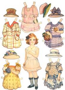 Paper Dolls - paper dolls and paper doll dresses printable from kid
