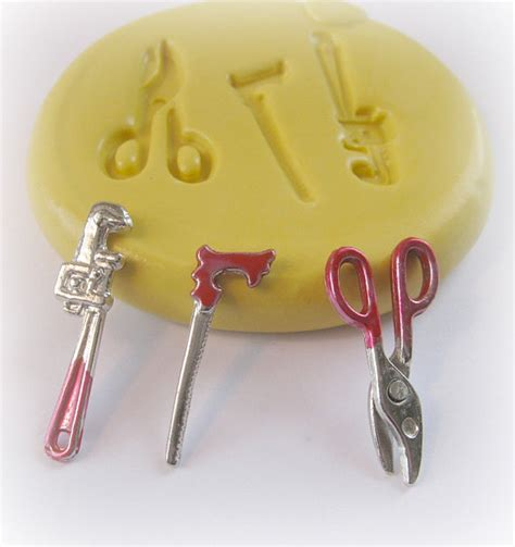 Tools Wrench Saw Mold Mould Resin Clay Fondant Wax Soap