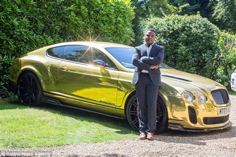 black and gold bentley trader swapped shifts at mcdonald s for a unique