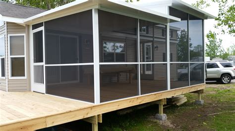 Screened In Porch Ideas For Mobile Homes screen porch for mobile home archives screen pro screen enclosures