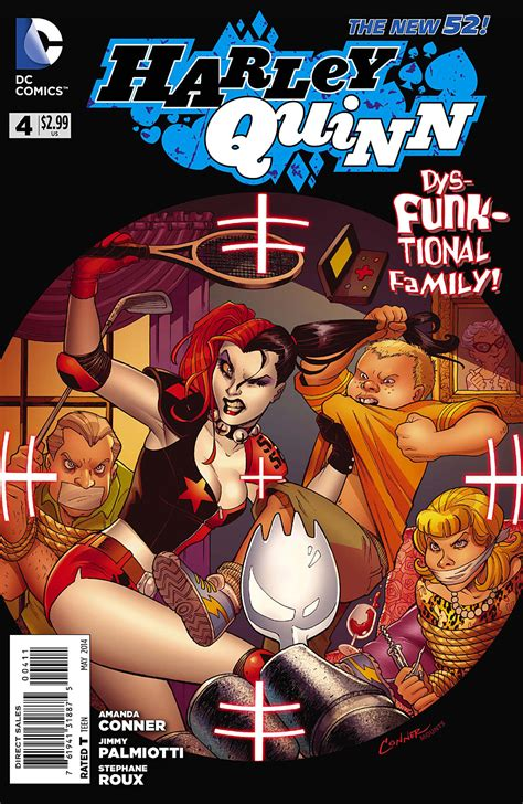 Book Review In The Fast By Quinn by Review Harley Quinn 4 Major Spoilers Comic Book