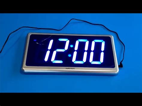 ivation clock amazon com customer reviews ivation big time digital led