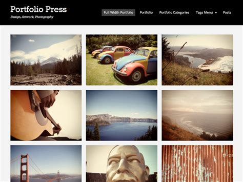 wordpress themes photo portfolio 10 free responsive portfolio wordpress themes free download