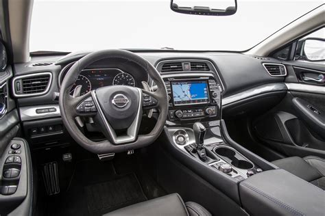 nissan maxima interior 2016 nissan maxima sr long term arrival review
