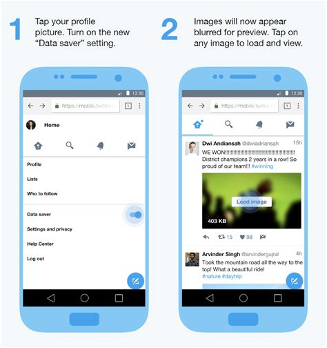 twiter mobile introducing lite blogs
