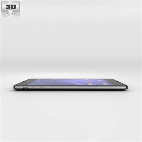 Custom Sony Xperia C3 sony xperia c3 black 3d model humster3d