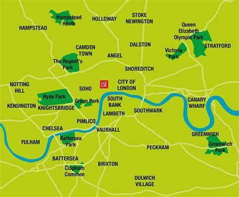 london sections map areas of london essential london london life life at