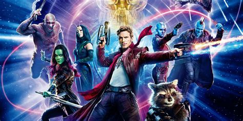 guardians of galaxy by guardians of the galaxy 2 gets chinese poster screen rant