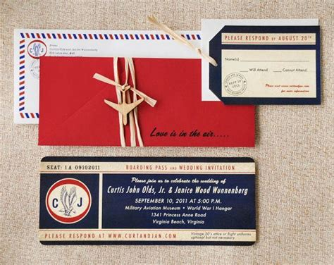 invitation design mail vintage air mail boarding pass invitation love is in the