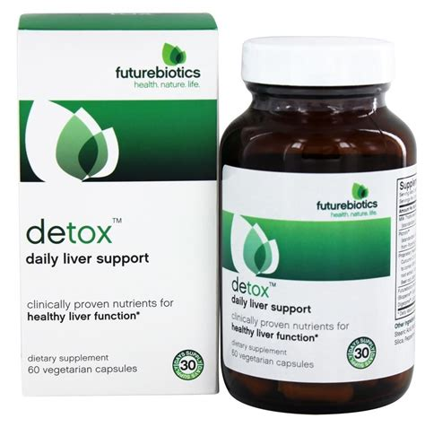 Liver Detox Products South Africa by Buy Futurebiotics Detox Daily Liver Support 60