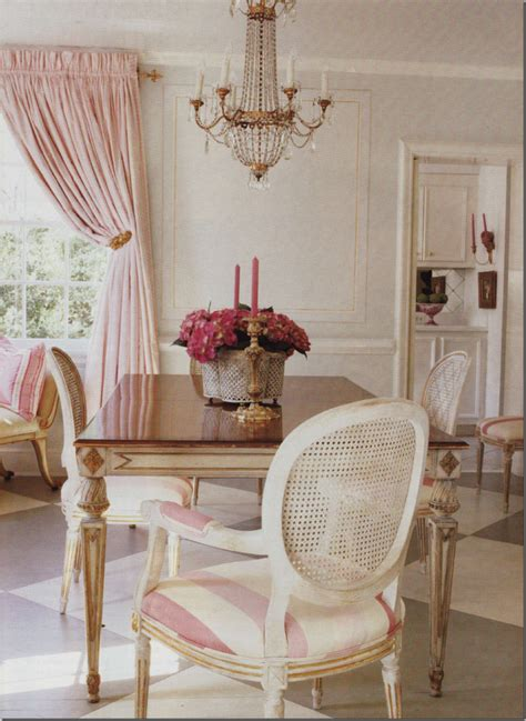 Pink Drapes Dining Room Alamodeus Palatable Pink