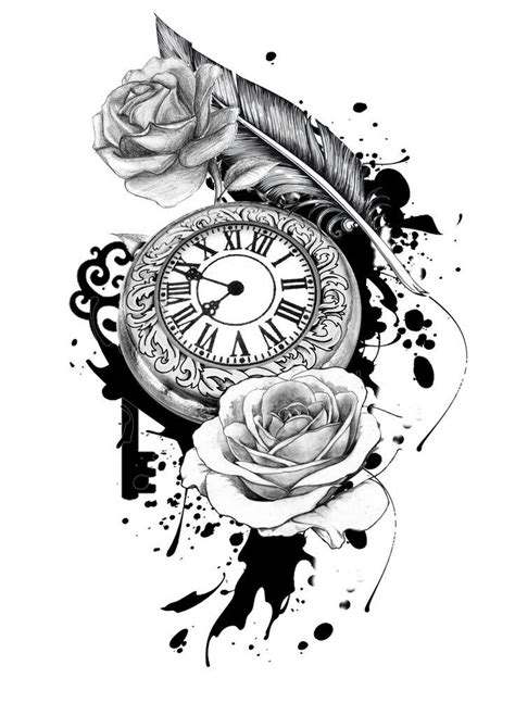 31 best time waits for no body tattoo designs images on