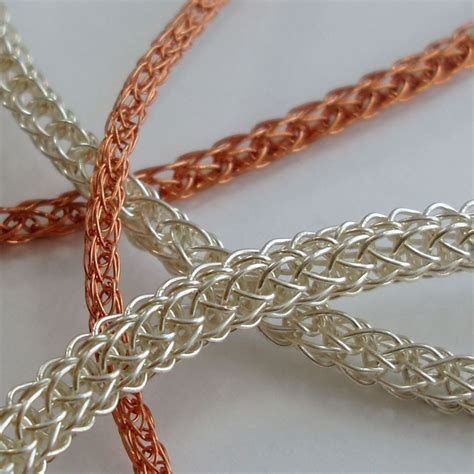 knit tutorial viking knit chain jewelrylessons beading