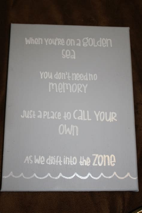 grey room lyrics canvas painted blue grey traced favorite lyrics from the song quot island in the sun quot in white