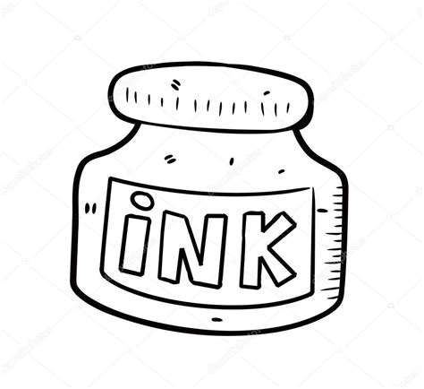 ink clipart coloring pencil and in color ink clipart