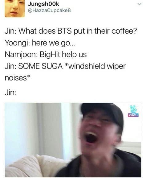 Jins Meme - bts jin memes gotta love jins dad jokes bts 방탄