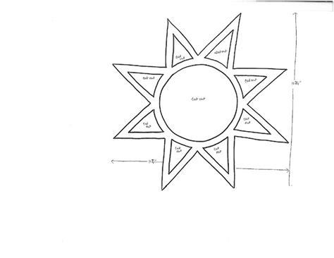template of a sun colorful tissue paper suncatchers favecrafts
